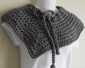 CLEARANCE Gray Skies - Soft  Unique Cowl
