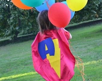 Supehero Capes  kids Costume Cape Party Favor  Personalized Super Birthday