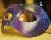 Reserved for *Tim* Hand-painted Space Masquerade Mask