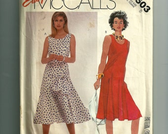 Vintage McCall's Dress and Sash Pattern 2503