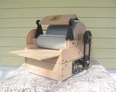 Fancy Kitty KITTEN 54/54 Art BattFiber Drum Carder with motorization kit and brush attachment