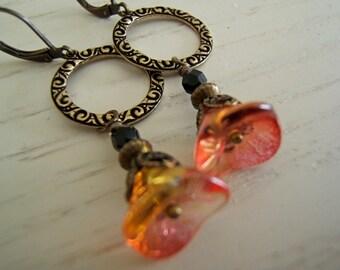 Earrings - Victorian Garden