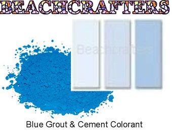 BLUE  Colorant for Grout or Cement -3 OZ, great to use with my mosaic tiles
