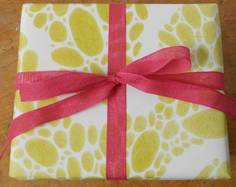 Chartreuse River Gift Wrap