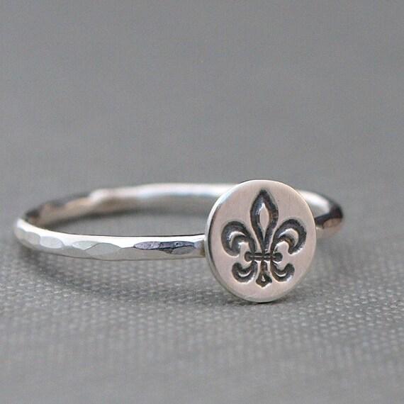 fleur de lis ring fleur de lis jewelry fleur de lys