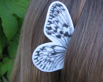 Silver Lining White Fairy Butterfly Ear Wings