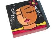 African American Girl Art...