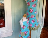Custom Order for Brittney - Lovely Roses Mother & Two Daughters Apron Set