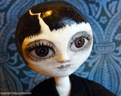 Night girl- everything changes ooak art doll
