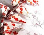 Bridal Shower Decor Wedding DIY Pick Your Paper Party Favors Origami 1.25 cents Traditional Custom 1000 Peace Cranes Senbazaru Anniversary