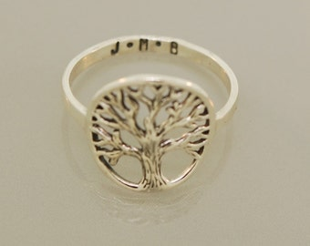 Custom Family Tree Ring