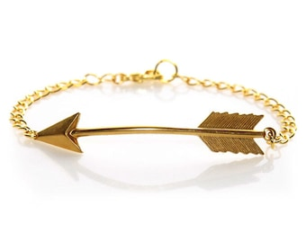 GOLD Arrow BRACELET sale