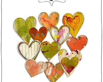 Altered Hearts - Digital Elements by Roben-Marie Smith
