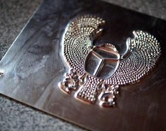 Egyptian Sliders' Timer Scarab Plate