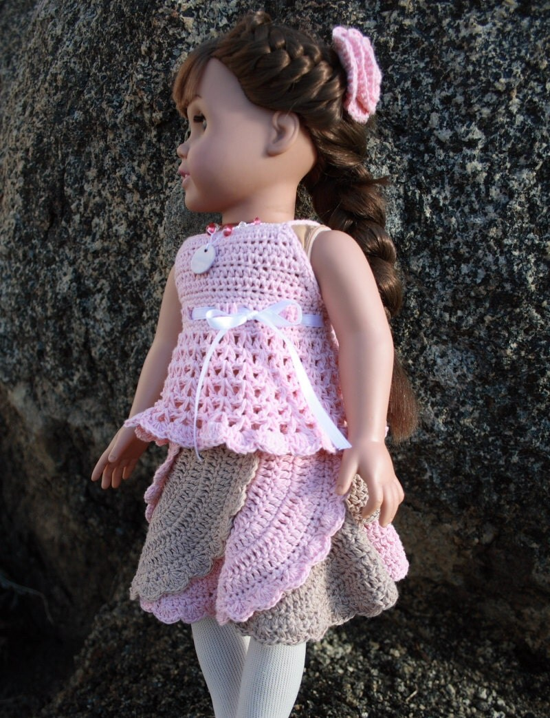 Baby Turtle Amigurumi Pattern : Crochet spiral skirt pattern to fit 18 dolls pdf pattern
