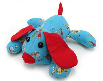 Puppy Dog Pete Dog Plush PDF Pattern INSTANT DOWNLOAD