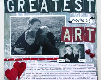 Custom Scrapbooking - I do all the work for you