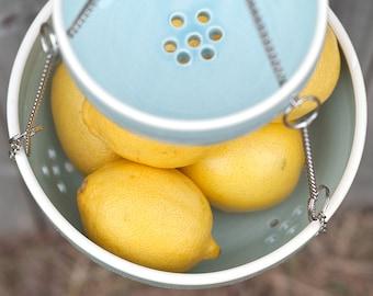 Hanging Fruit Basket - color options - MADE TO ORDER