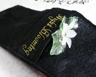 Protection Pouch- Small NightBlooming Hair Accessory Bag