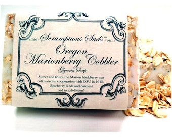 Oregon Marionberry Cobbler Glycerin Soap