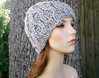 Knit Hat Grey Womens Hat - Amsterdam Beanie in Marble Grey Knit Hat - Grey Hat Grey Beanie Grey Mens Hat Womens Accessories Winter Hat