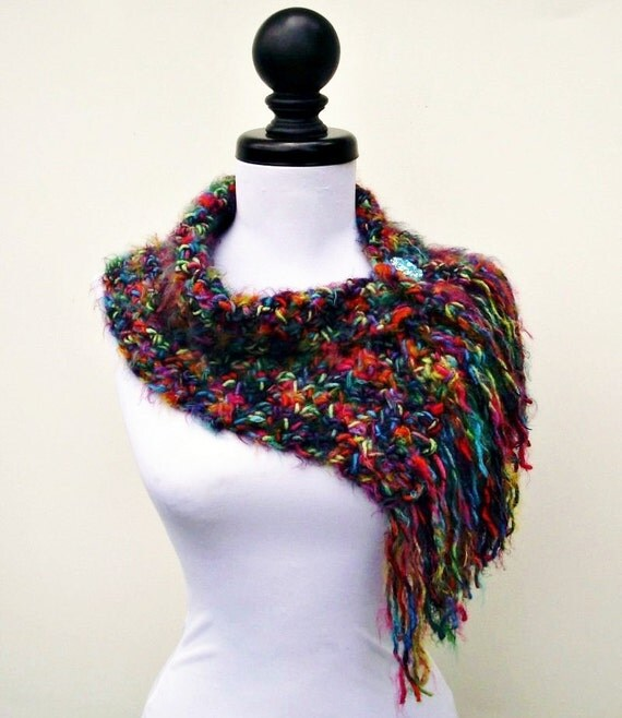 Instant Download Crochet PATTERN PDF - Crochet Cowl Scarf - Scarflette Cowl - Womens Accessories