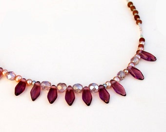 Delicate Glass Necklace