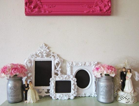 Mini Ornate Chalkboards, Magnetic Chalkboards Party Decor