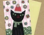 Holiday Kitten Blank Notecard Set