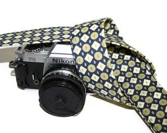 Camera strap for SLR, DSLR - Grandpa's Diamond Tie - by Howard Avenue