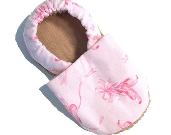 Ballet Soft Soled Baby Shoes 6-12 mo