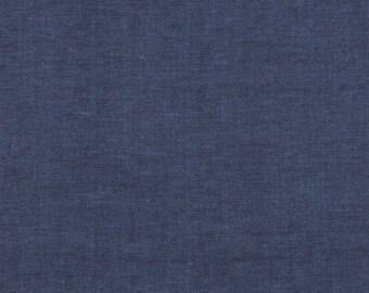 Kaffe Fassett FABRIC - Shot Cotton - Blue Jean