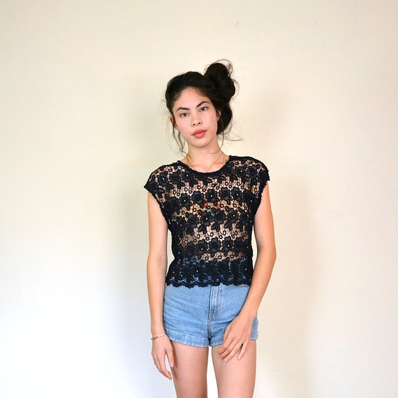 vintage all lace top