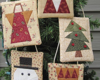 Perfect Wrap Sets 1 AND 2 - Ornaments with a Pocket to hold a gift card. Save money.