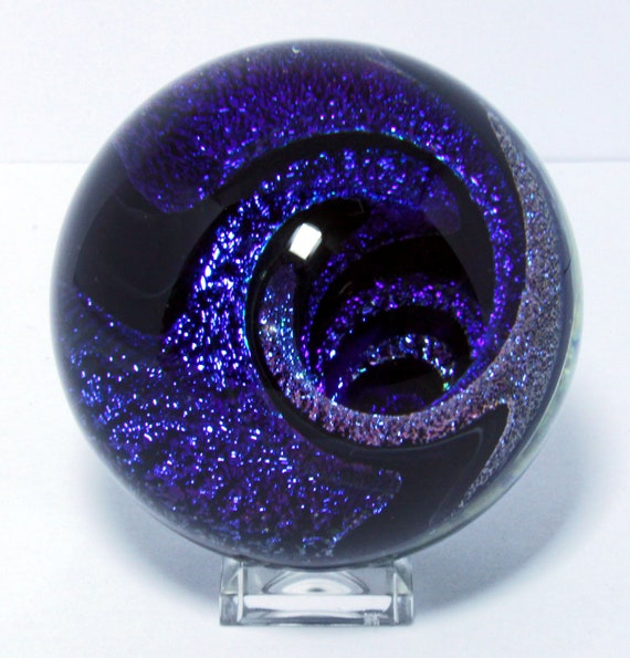 Handmade Contemporary Art Glass Marble 38