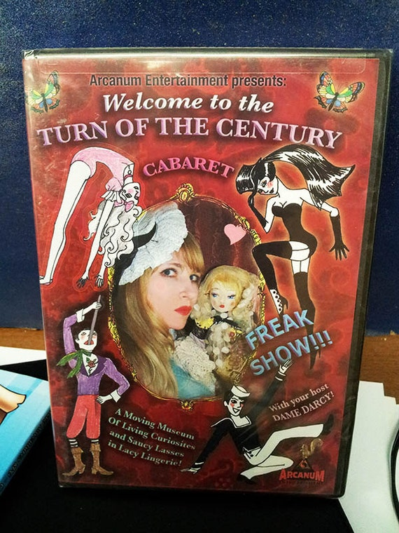 Turn of the Century, DVD, Courtney Love, Tiny Tim, Dame Darcy, Thurston Moore sonic youth, cabaret, comics, animation