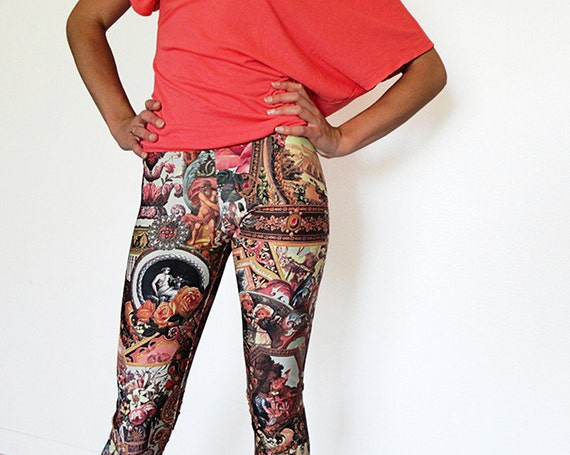 Reserved for Nicole. LAST pair Nouveau Riche Leggings. S - XL. Free Shipping