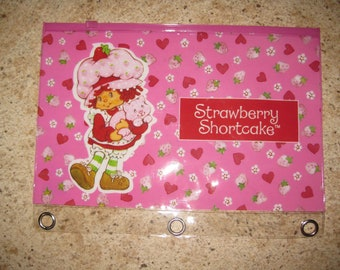 pencil holder strawberry shortcake