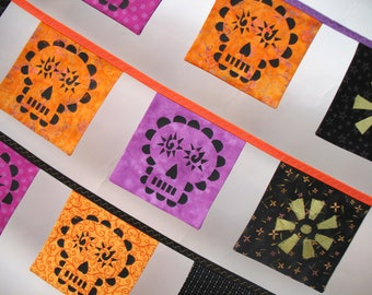Mini Day of the Dead Altar Bunting -- Long