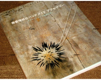Japanese Craft Book Make Polymer Clay Accessories Jewelry Beads