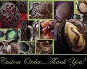Candice Custom Order (for VintageBrassShop)