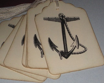 8  Boat Anchor Gift Tags