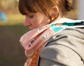 Scarf/ Vintage Style Retro (Melody Miller) Fabric