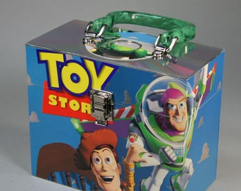 Recycled Laser Disc DVD Storage Case - Toy Story