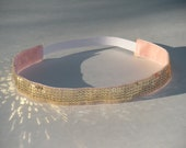 Sequin No Slip Headband - Gold