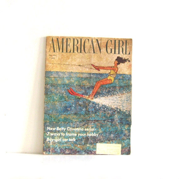 Vintage Magazine 1960s American Girl Teenager Mag