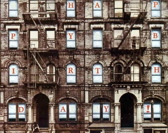 Led Zeppelin Album Cover Card