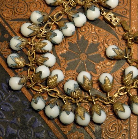 Vintage Snow Berries Bracelet Links