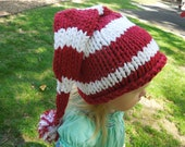 Candy Cane Hat 2T-3T