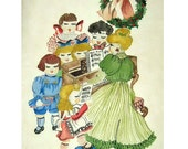 Vintage Watercolor Painti...